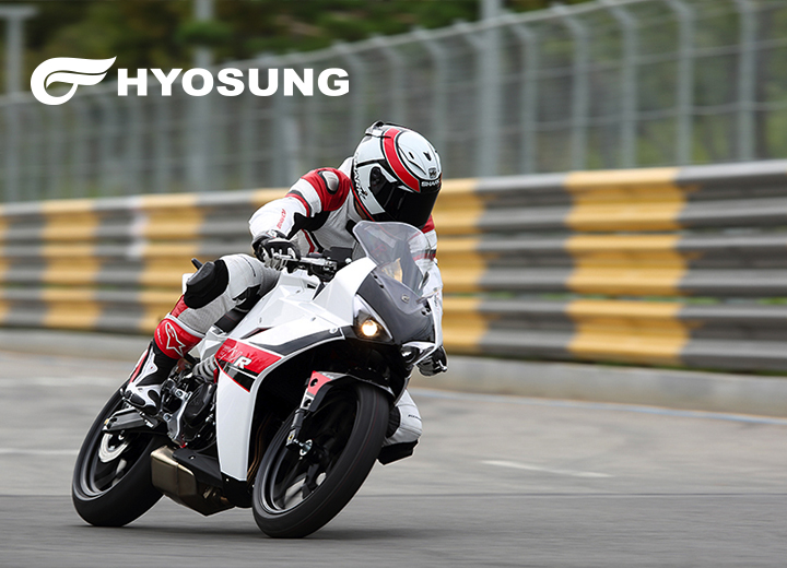 Hyosung Motorcycle new