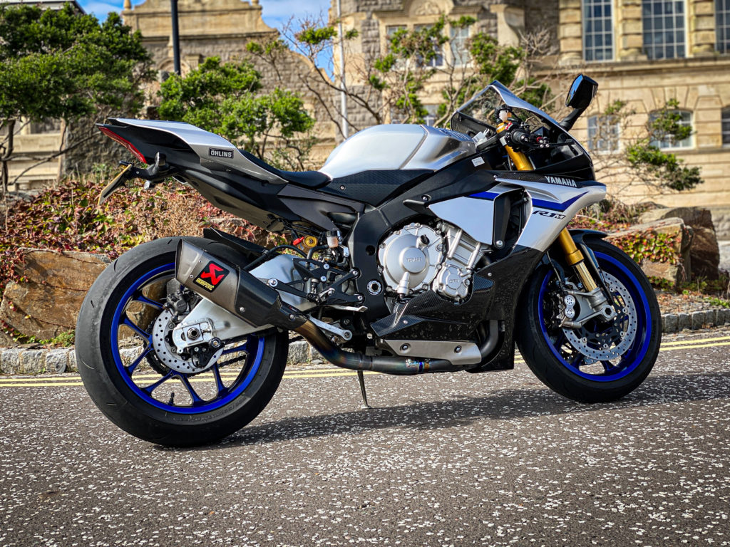 Yamaha YZF R1M for sale weston motorcycles weston super mare